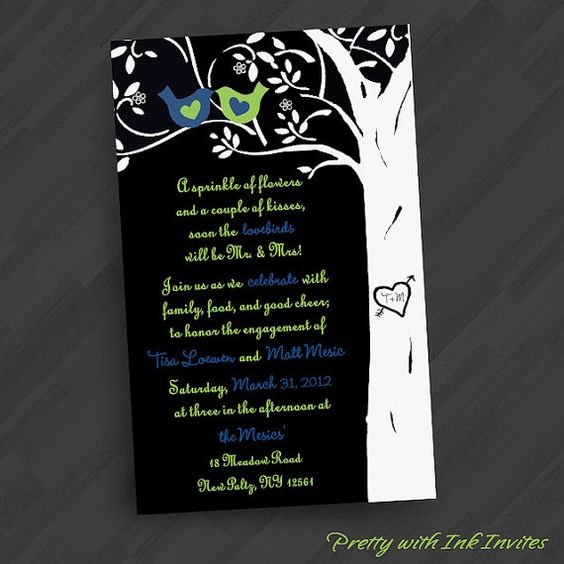 Special Event Wedding or Engagement by PrettyWithInkInvites, $20.00