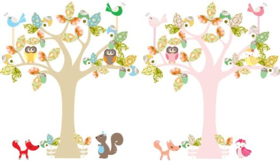 Exclusive Update – Cocoon Couture's Enchanted Tree now available as a wall decal – Babyology