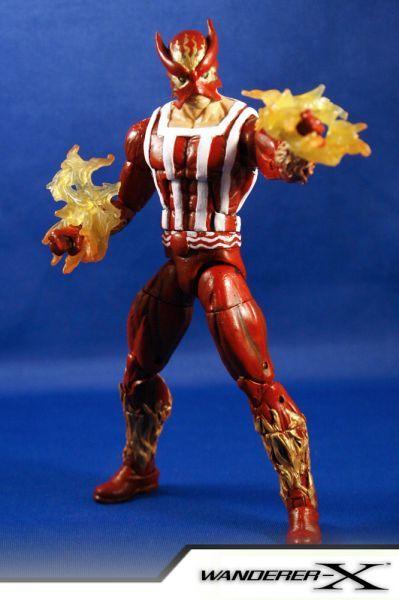 sunfire marvel legends custom action figure custom
