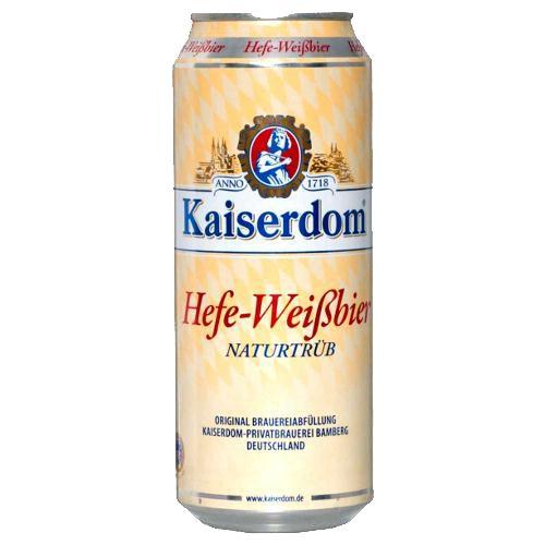 Bia Kaiserdom Hefe Weissbier 4.7% - Lon 500ml - Bia Đức Nhập Khẩu TPHCM