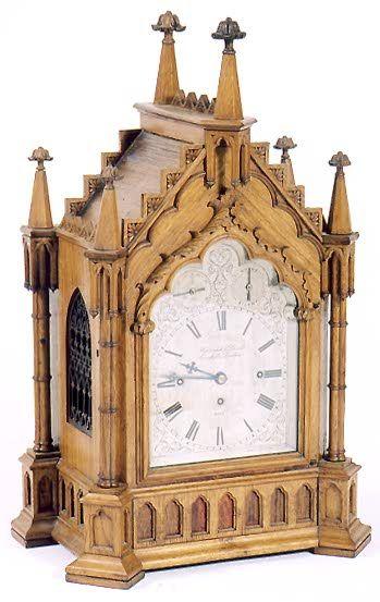 castle like clock