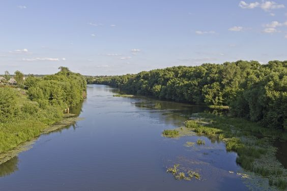 Don River in Dankov, Dankovsky District, Lipetsk Oblast, Russia. In antiquity, the river was viewed as the border between Europe and Asia by some ancient Greek geographers. In the Book of Jubilees, it is mentioned as being part of the border, beginning with its easternmost point up to its mouth, between the allotments of sons of Noah, that of Japheth to the north and that of Shem to the south.