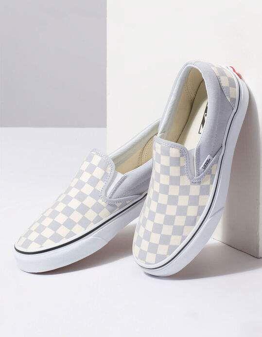 vans checkerboard grise