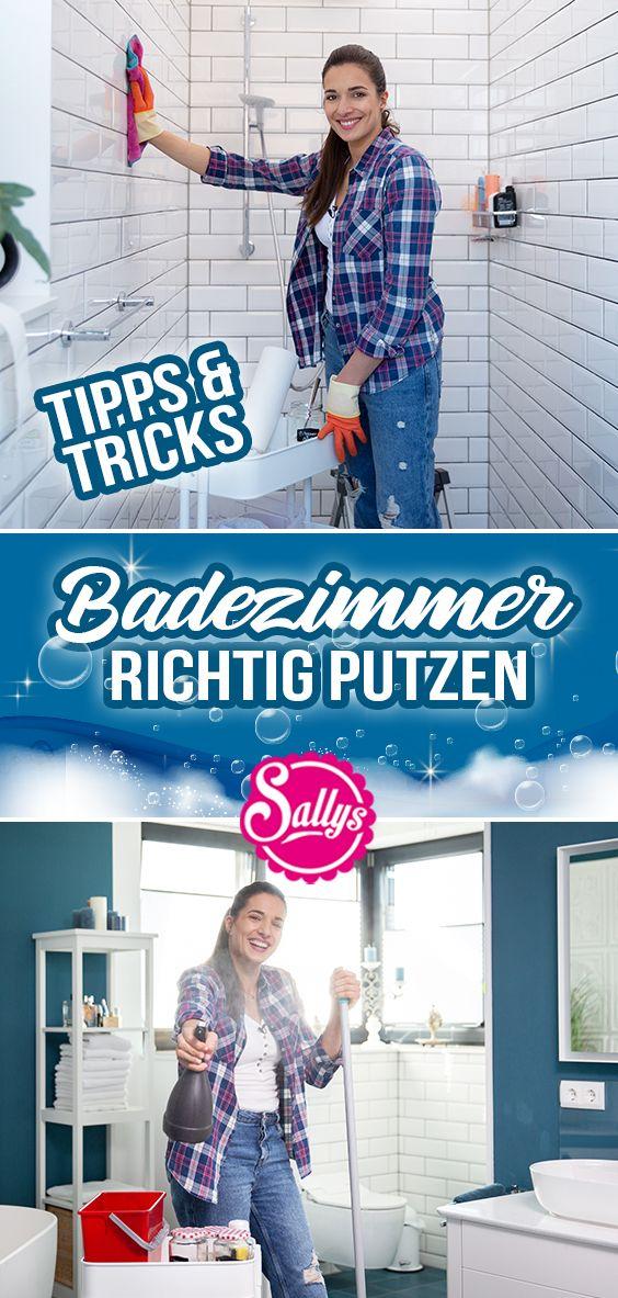 Badezimmer Reinigen Tipps Und Tricks Fruhjahrsputz Diy Sallys Welt In 2020 Badezimmer Reinigen Badezimmer Putzen Tipps Tipps