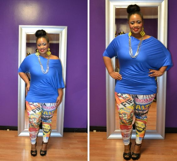 Colorful Leggings Plus Size