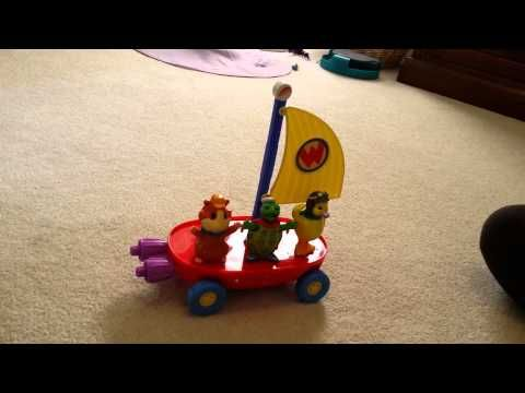 Fisher Price The Wonder Pets Fly Boat Linny Figure Nickjr