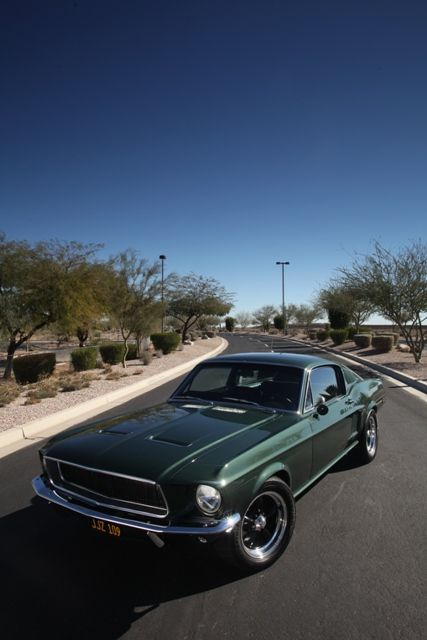 Gateway Classic Mustang 68 Bullit Tribute Created For