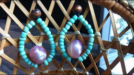 Mermaid scale on wire. Price 5 eur. Find me on facebook: Tarin unikatni nakit.