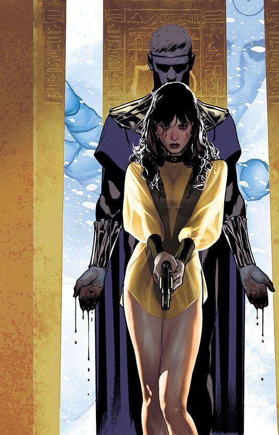 """Before Watchmen: Dr. Manhattan"" variant cover by Adam Hughes"