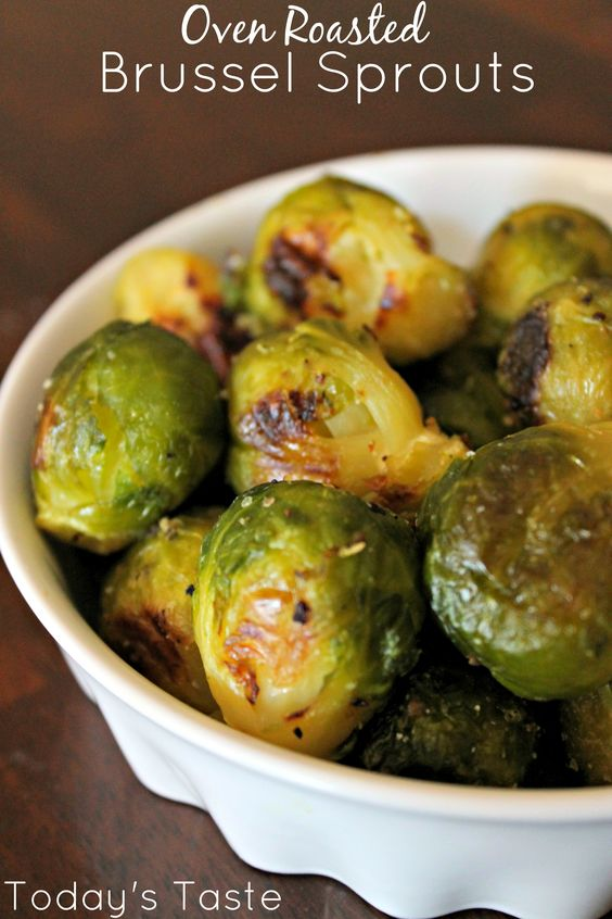 Oven Roasted Brussel Sprouts (our secret to make them taste delicious!)