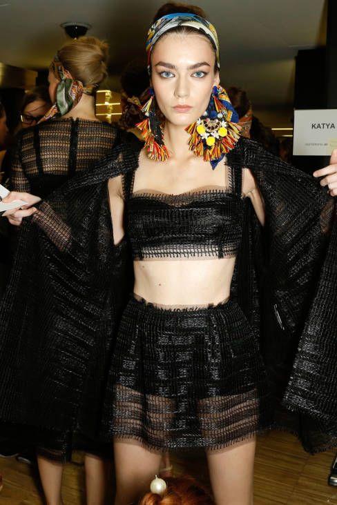Dolce & Gabbana Spring 2013 Ready-to-Wear Backstage