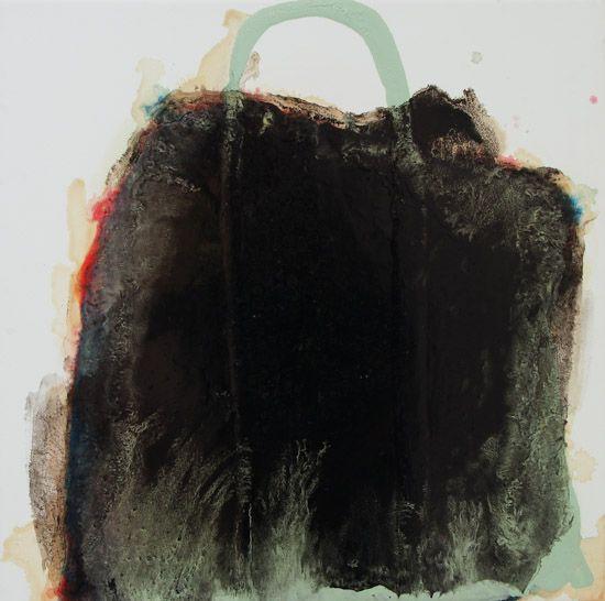 Marie Le Lievre.  Blacken Brag.  2013.  560 x 560 mm.  Oil on canvs.