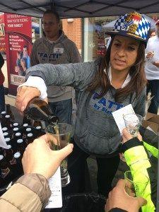 Beer tastings at the Leesburg Beer Festival! #leesburg #beerfest #beer #virginia #growingupexpat #expat #expatlife