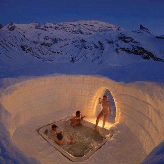 Oh hell ya #scandinavian #icewaterinmyveins #chicagosnotcold