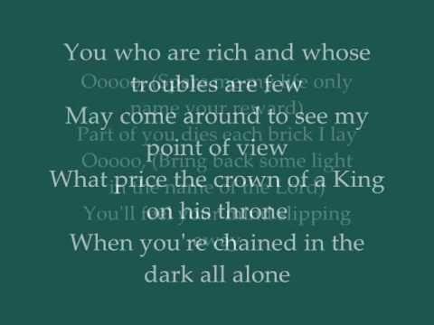 The Alan Parsons Project  -  Cask Of Amontillado  -  Lyrics