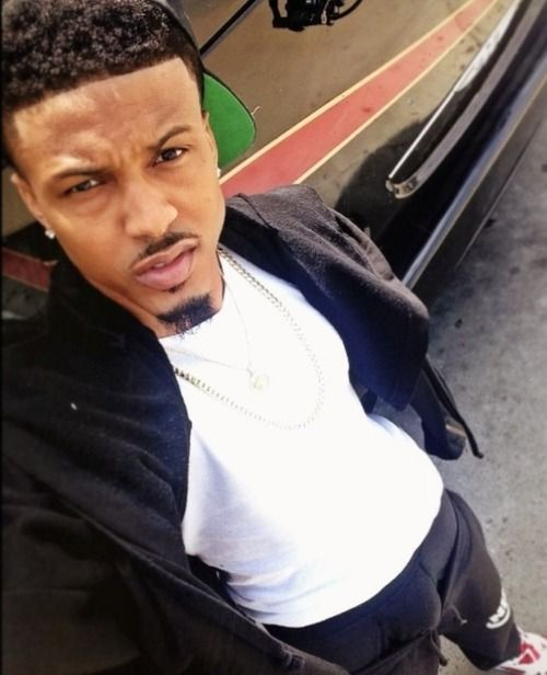 Pictures From His August Alsina Instagram | august-alsina-boxers-bulge-2014