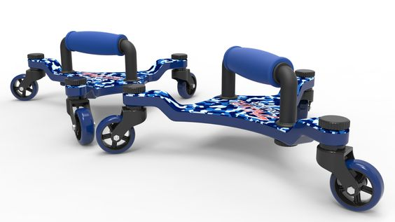 Blue Camo Swivel Trainer- Low Impact. Low Resistance. High Intensity Training.