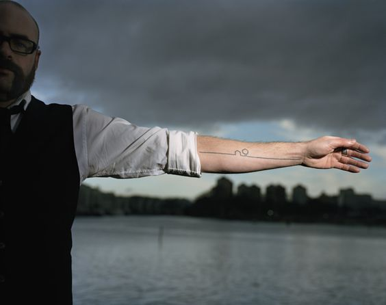 BLÄCK / a project about tattoos and people by Björn Abelin, via Behance