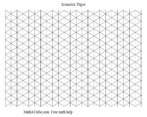 isometric graph paper Design ideas Pinterest Graph paper - free isometric paper
