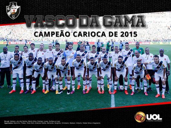 Vasco Campeão Carioca 2015