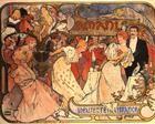 Amants - Alphonse Mucha