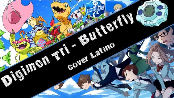 Butterfly ~ Digimon Tri (Cover latino)