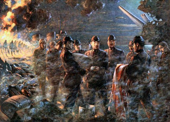 """Last Moment of Admiral Yamaguchi"", Renzo Kita"
