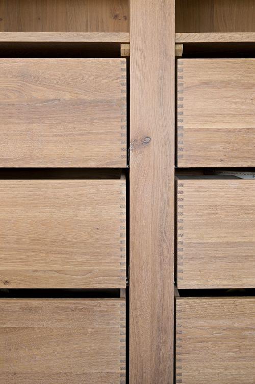 Eiken Keuken White Wash : VRI interieur landelijke keuken modern eiken met houten laden en