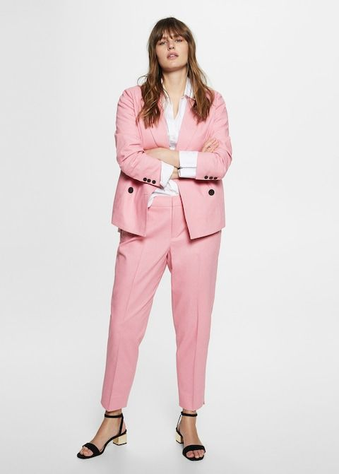 Pantalon de costume en lin