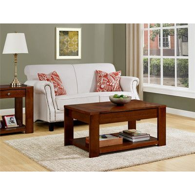 $180 - August Grove Taylor Coffee Table with Lift Top
