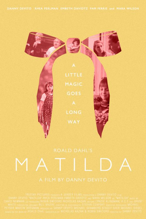 Matilda - Original Cinema Movie Poster From pastposters.com ...