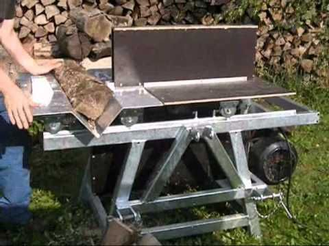 Brennholzsäge Eigenbau mit Dreipunktaufhängung