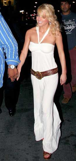 Jessica Simpson Outfits Sotto Sotto In Toronto Canada August 31 2005