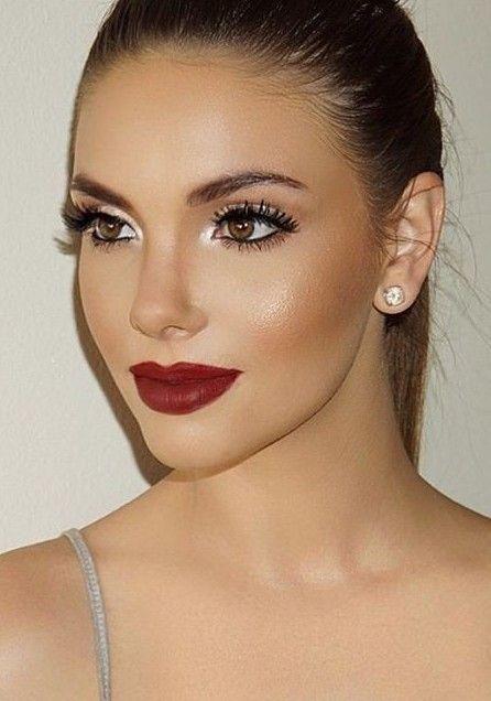 maquillaje para rubio oscuro