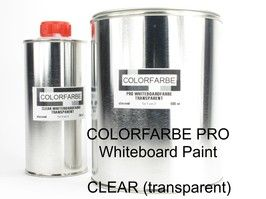COLORFARBE PRO Whiteboard Paint CLEAR