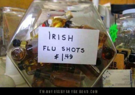 Irish flu shots
