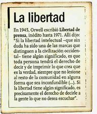 La libertad de #Orwell