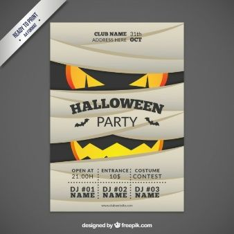 Halloween party invitation party