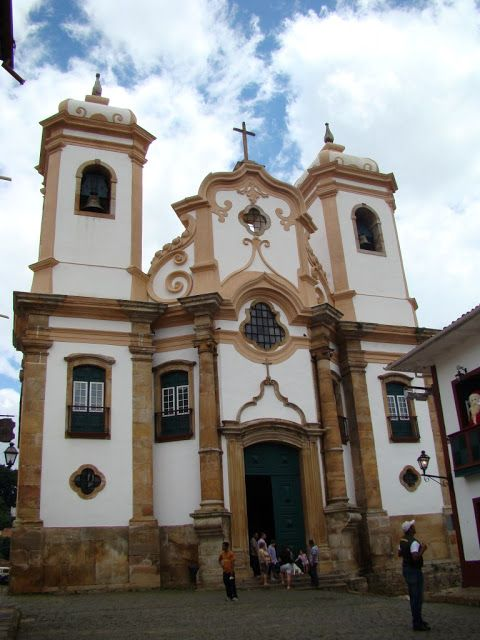 Igreja Nossa Senhora do Pilar, Ouro Preto, Minas Gerais, Brasil.