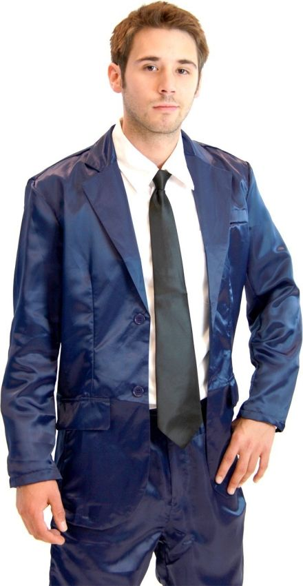 This literally looks like a raincoat...NO 4 Piece Silk Suit Mens ...