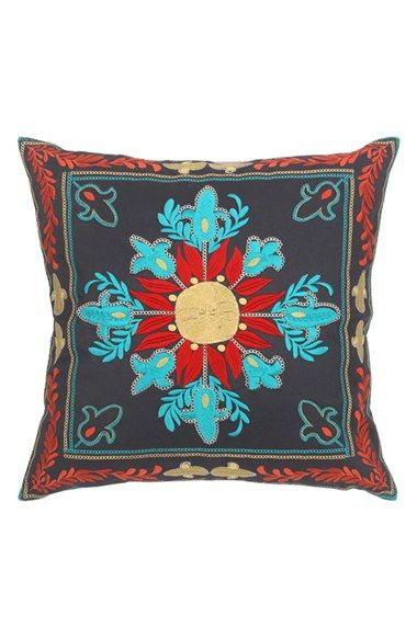 Free shipping and returns on Blissliving Home 'Samsara' Pillow at Nordstrom.com. Tibetan-inspired tones color the artisanal embroidery of this distinctive cotton-twill pillow.