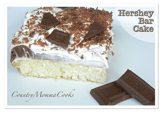 Country Momma Cooks: Hershey Bar Cake