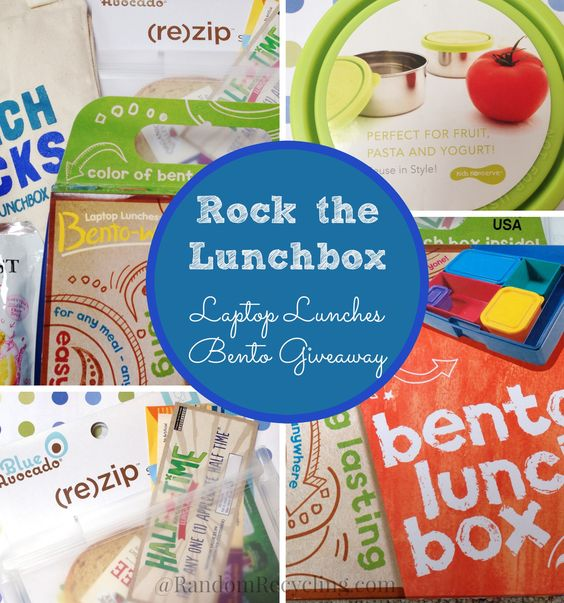 How do you Rock the Lunch Box? Plus a Laptop Lunches Bento Giveaway | Random Recycling: Healthy Living for Modern Families