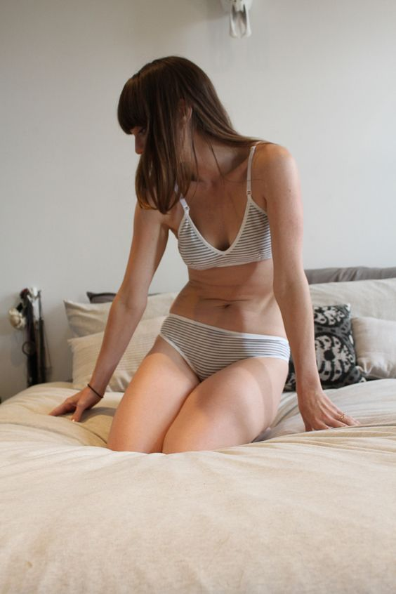Brook There organic cotton underwear and bra - a better alternative to fast fashion lingerie.