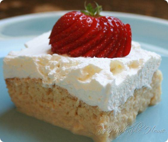 Chuys Tres Leches Cake Copycat Recipe