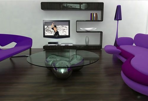 Loved the TV stand!