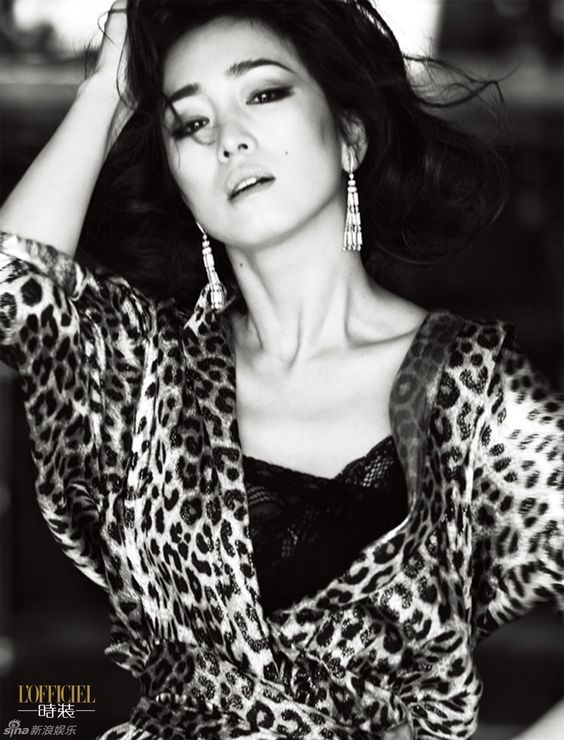 Gong Li for L'Officiel | Cfensi