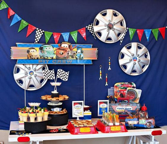 Hostess with the Mostess® - Super Cool Disney Pixar Cars Birthday Party