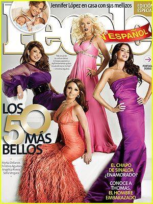 Christina Aguilera Covers People en Español: