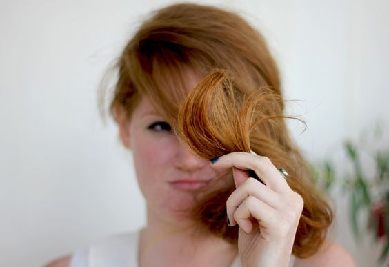3 Homemade Remedies For Split Ends  http://blog.freepeople.com/2012/08/3-homemade-remedies-split-ends/
